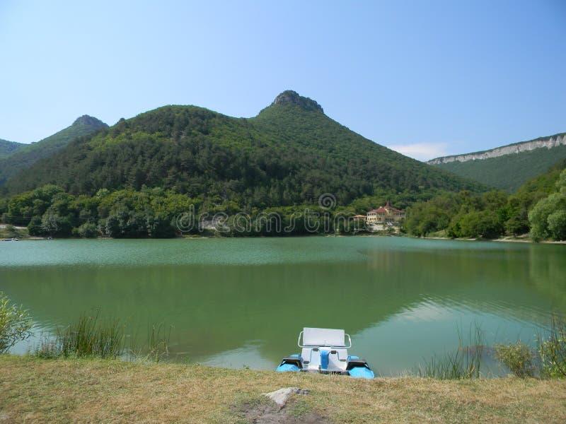 Montagnes de la Crimée photo stock