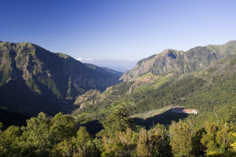 Montagnes de la Madère II images stock