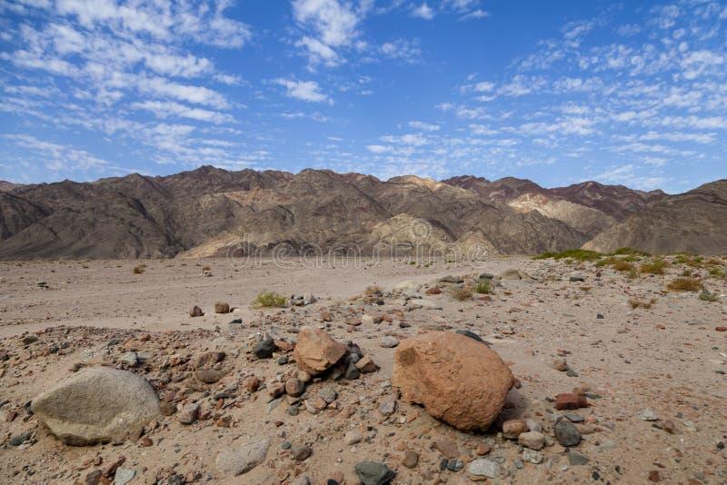 Montagnes de la Mer Rouge image stock