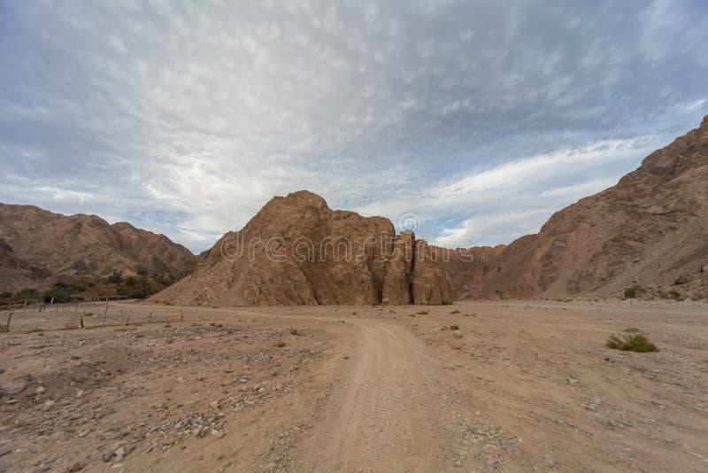 Montagnes de la Mer Rouge photographie stock libre de droits