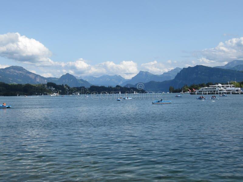 Montagnes de la Suisse image libre de droits
