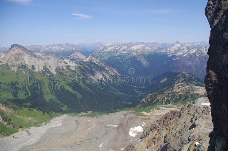 Montagnes de Mt. Tenquille photo libre de droits