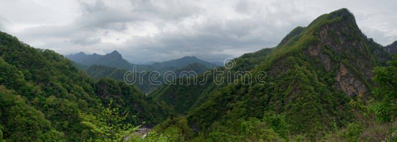 Montagnes de Myohyang, DPRK (Corée du Nord) photos libres de droits