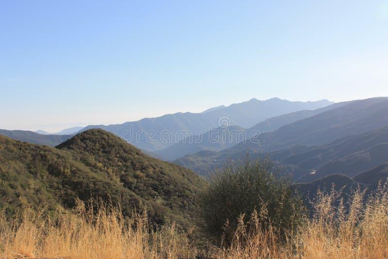 Montagnes de parc national d'aumôniers de visibilité directe photo stock