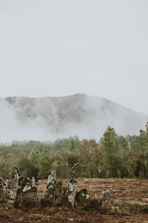 Montagnes de PAYSAGE photographie stock libre de droits