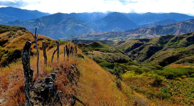 Montagnes de paysage de l'Equateur image libre de droits