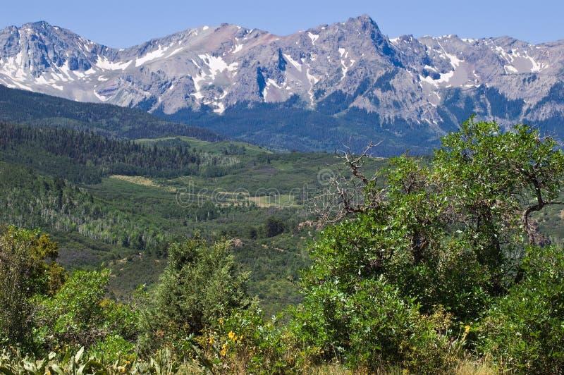 Montagnes de San Juan photographie stock