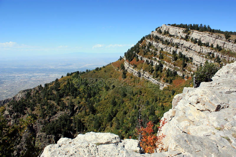 Montagnes de Sandia photo stock