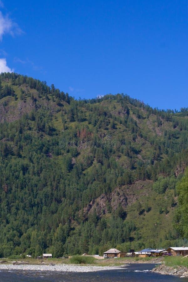 Montagnes de Sayan image libre de droits
