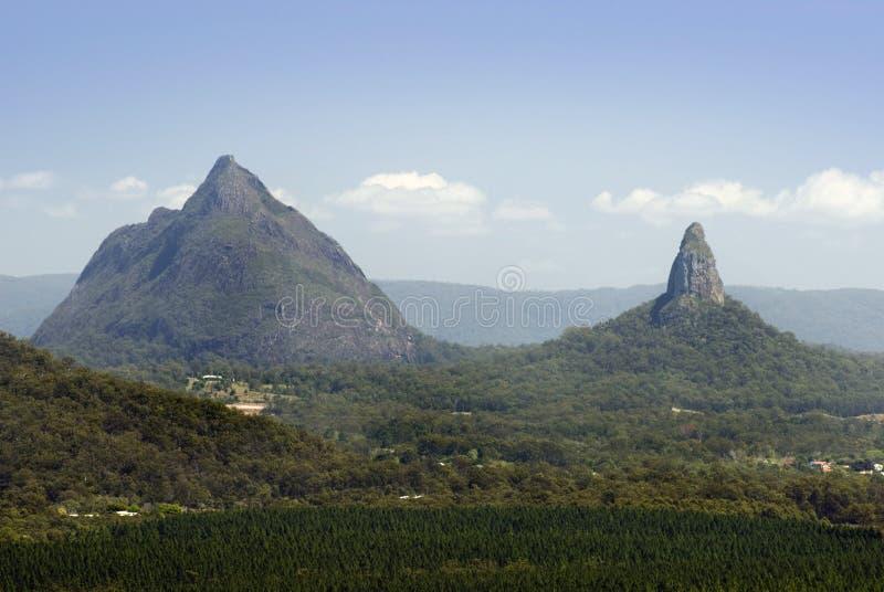 Montagnes de serre, Queensland, Australie photo stock