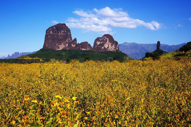 Montagnes de Simien, Ethiopie images stock