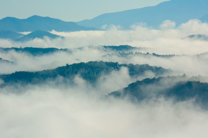 Montagnes de Smokey photos stock