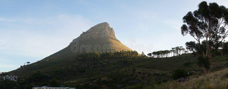 Montagnes de Tableau de Cape Town en Afrique du Sud images libres de droits