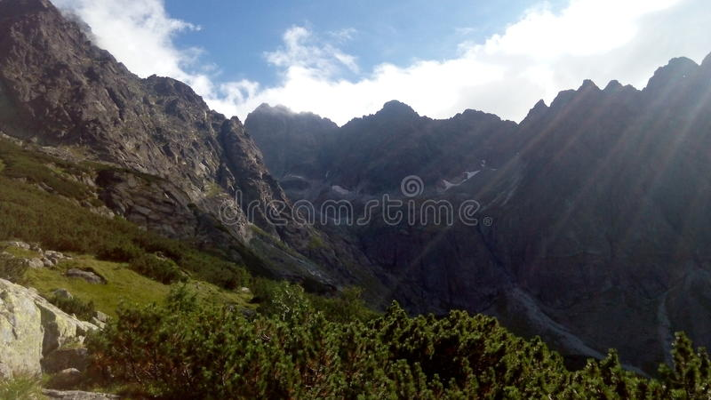 Montagnes de Tatra photographie stock