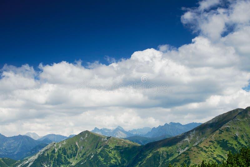 Montagnes de Tatra en Pologne photos libres de droits