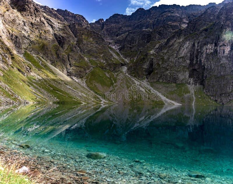 Montagnes de Tatra en Pologne en Europe photographie stock libre de droits