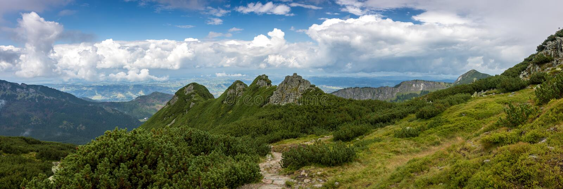 Montagnes de Tatra en Pologne en Europe image stock