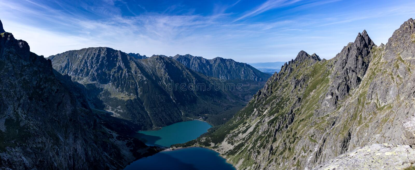 Montagnes de Tatra en Pologne en Europe photo stock