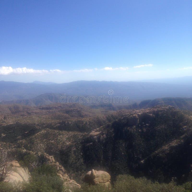 Montagnes de Tucson photographie stock