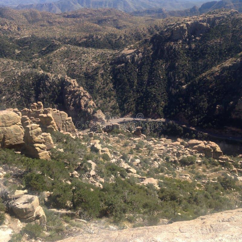 Montagnes de Tucson photo stock