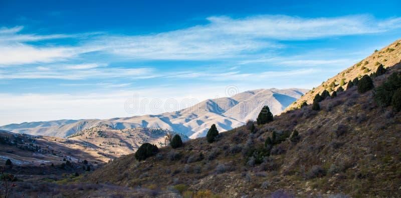 Montagnes de Tyan-Shyan, Karakol, Kirghizistan image libre de droits