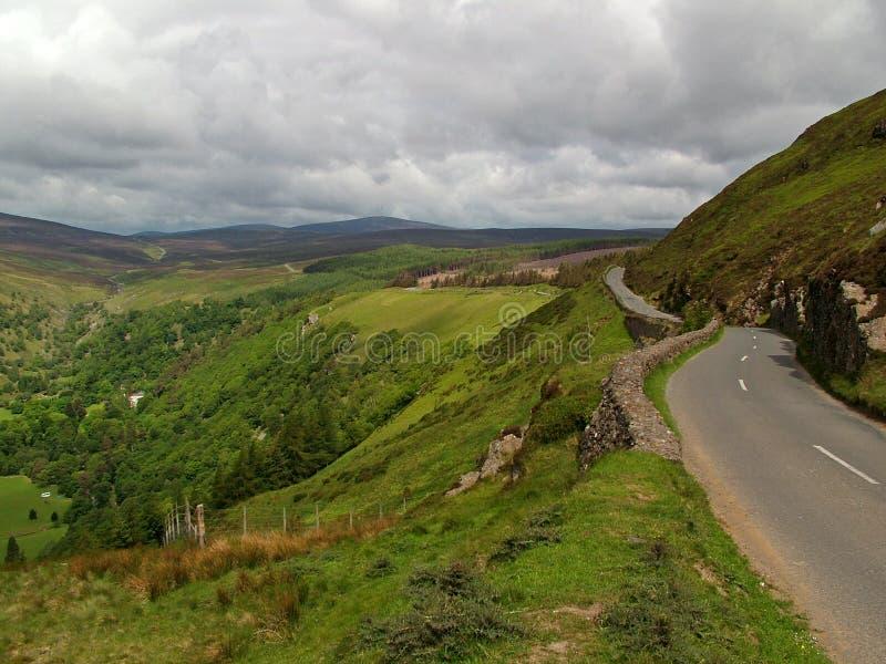 Montagnes de Wicklow images libres de droits