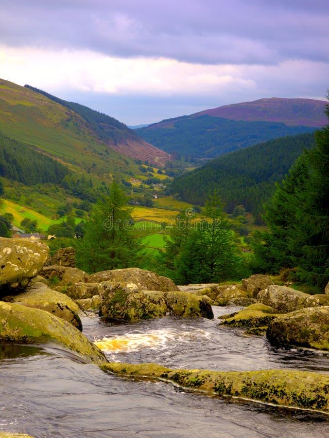Montagnes de Wicklow photos stock