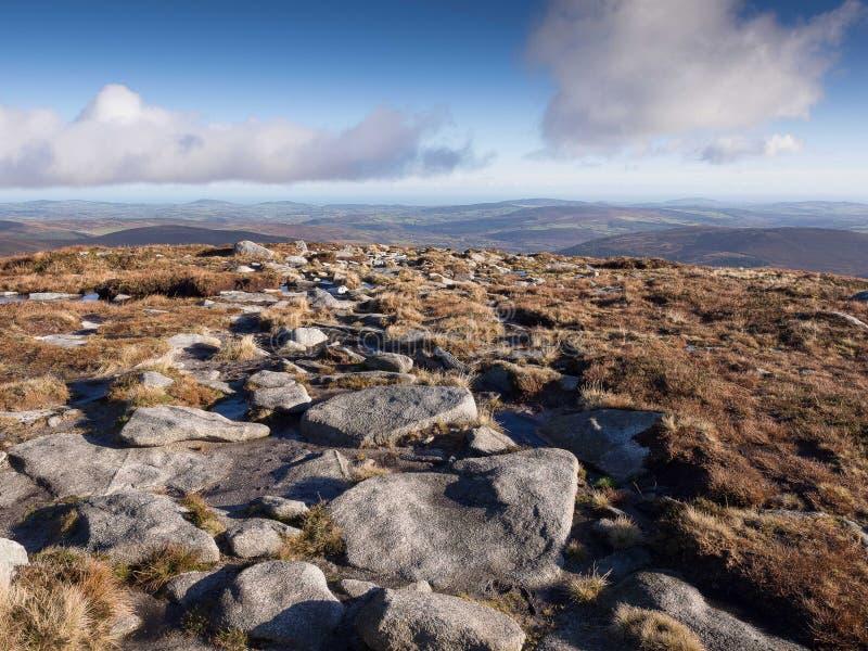 Montagnes de Wicklow, Irlande photos libres de droits