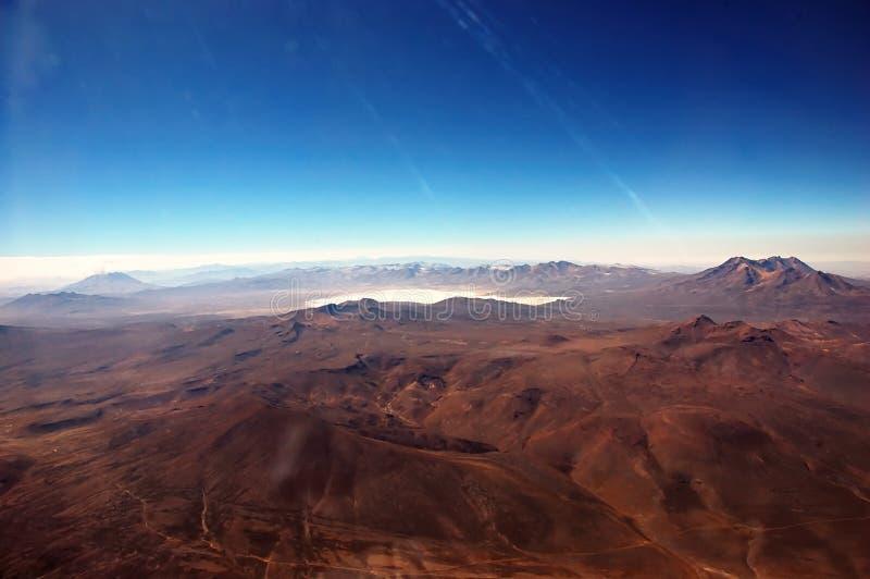 Montagnes des Andes images libres de droits