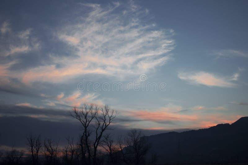 Montagnes du Caucase du nord images stock