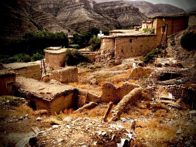 Montagnes du Maroc d'atlas photographie stock libre de droits