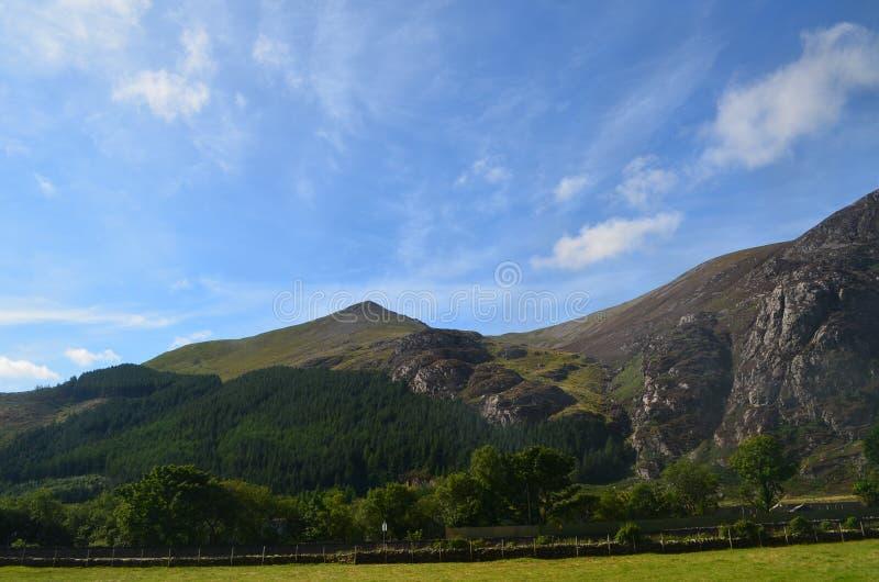 Montagnes du Pays de Galles photo stock