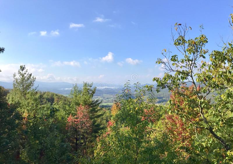 Montagnes du Tennessee photographie stock
