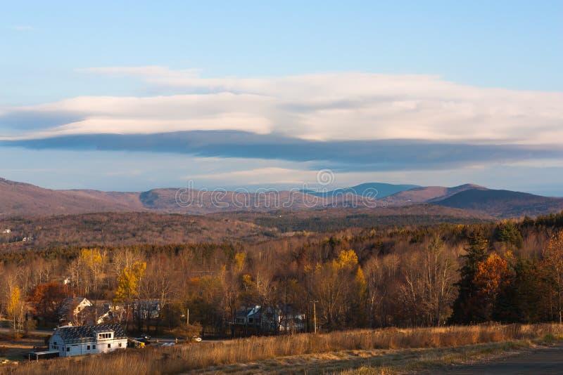 Montagnes du Vermont image stock