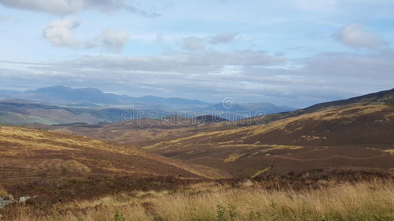 montagnes Ecosse photo libre de droits