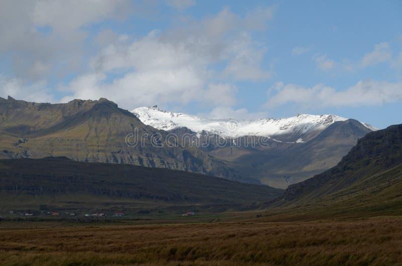 Montagnes en Islande image stock