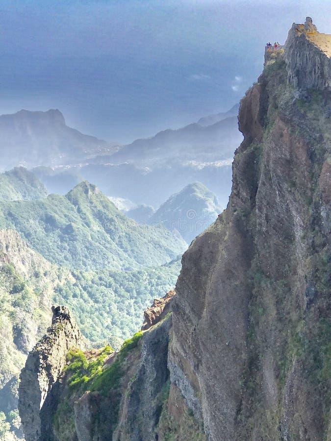 Montagnes en la Madère photo libre de droits