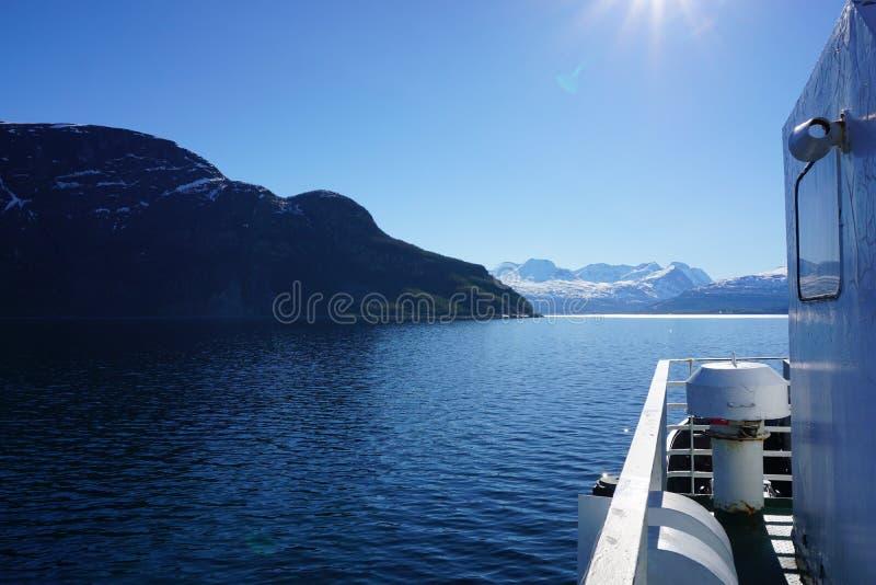 Montagnes en Norvège photos libres de droits