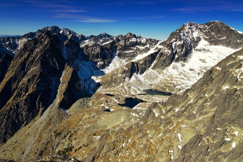 Montagnes en Slovaquie images libres de droits