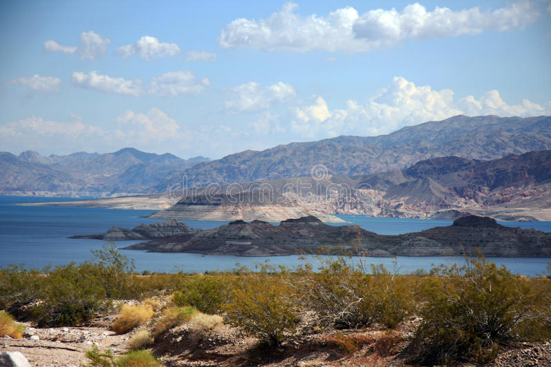 Montagnes et collines au Nevada photographie stock