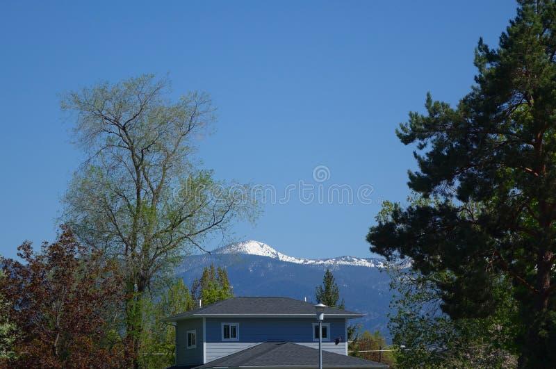 Montagnes et forêts - Missoula, Montana photos libres de droits