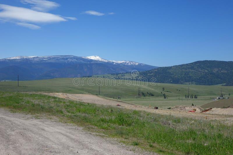 Montagnes et forêts - Missoula, Montana photo libre de droits