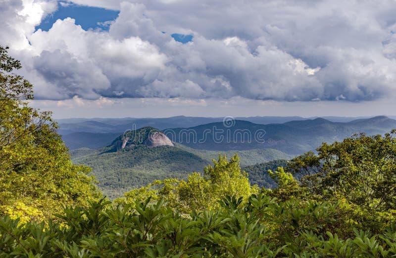 Montagnes fumeuses Asheville images stock