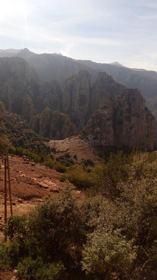 Montagnes marocaines photos libres de droits