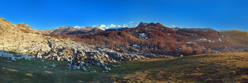 Montagnes nommées   image stock