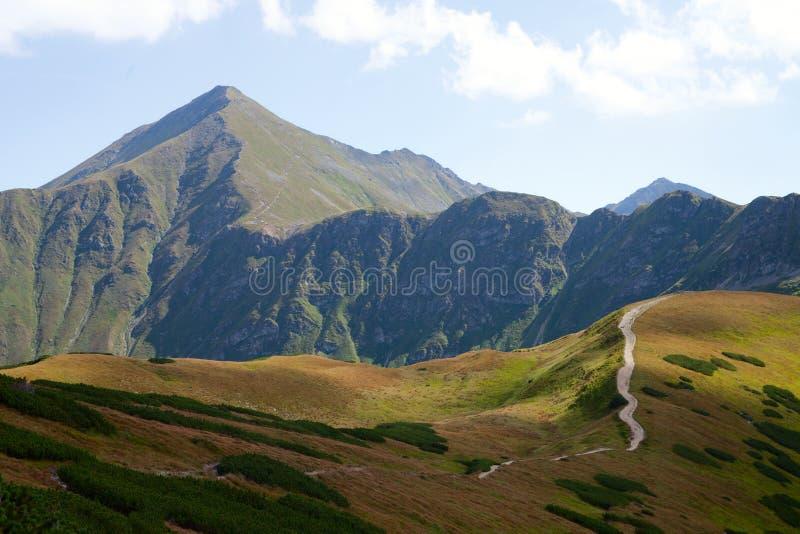 Montagnes occidentales de Tatra en Pologne image libre de droits