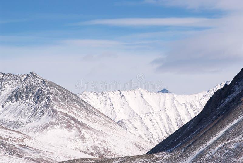 Montagnes orientales de Sayan. Altai. photos stock