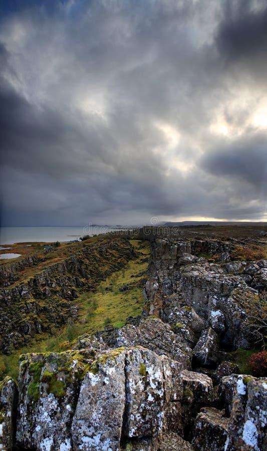 montagnes rocheuses à la vue photographie stock libre de droits