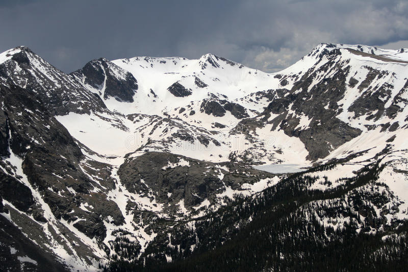 montagnes rocheuses photographie stock