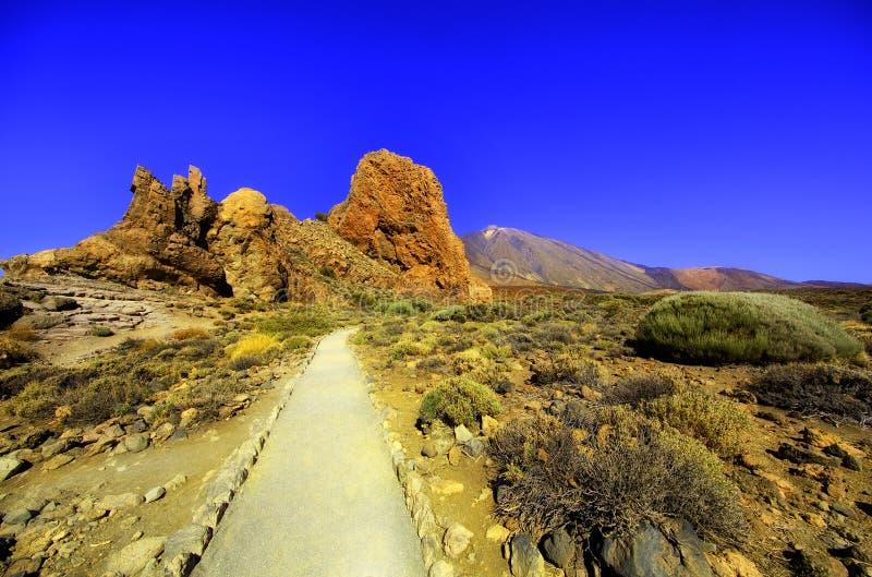 Montagnes rocheuses de Ténérife photos stock